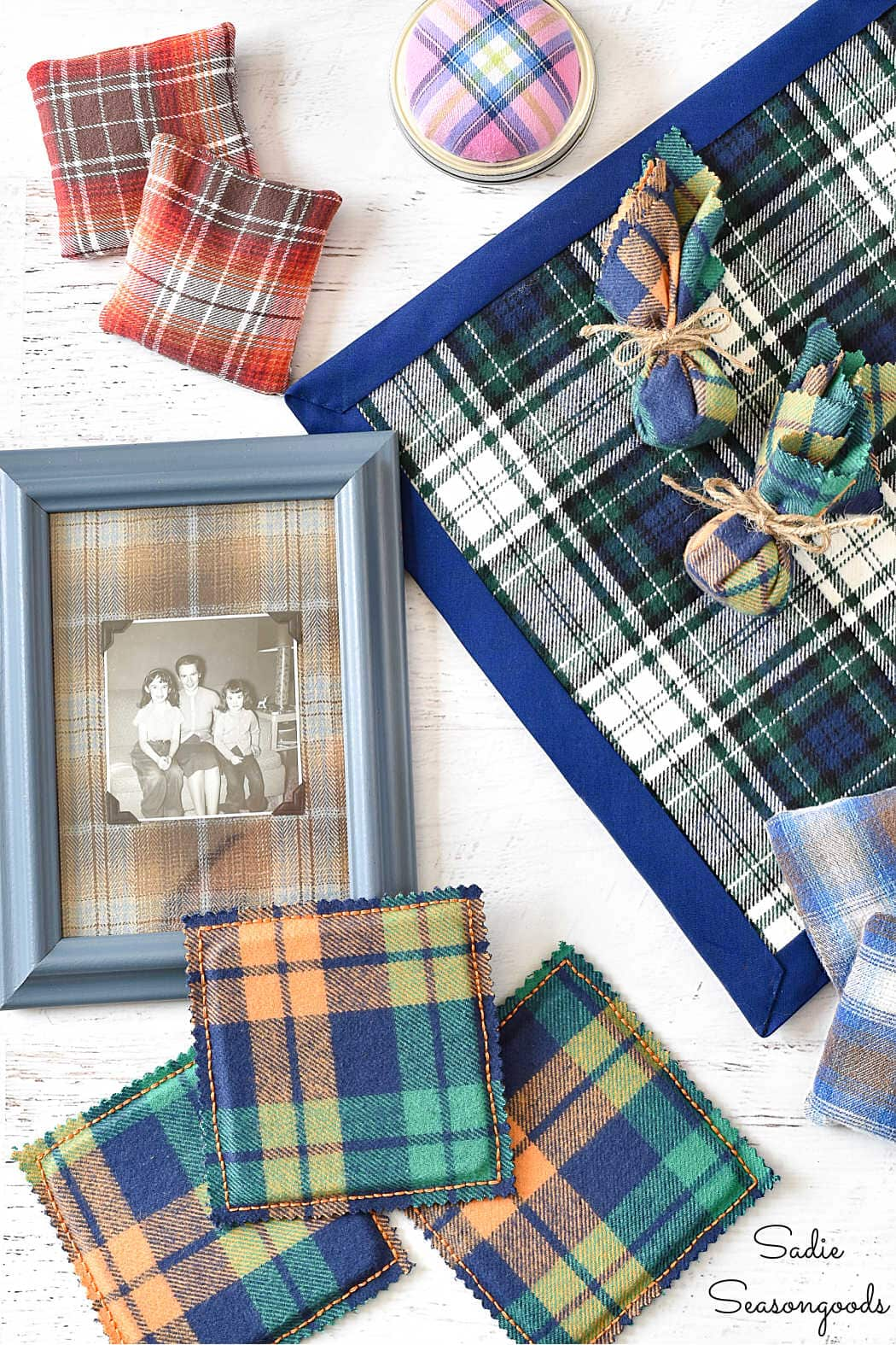 diy gift ideas from crafting with flannel