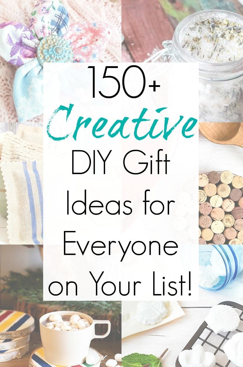 Handmade gift ideas and creative DIY Christmas Gifts