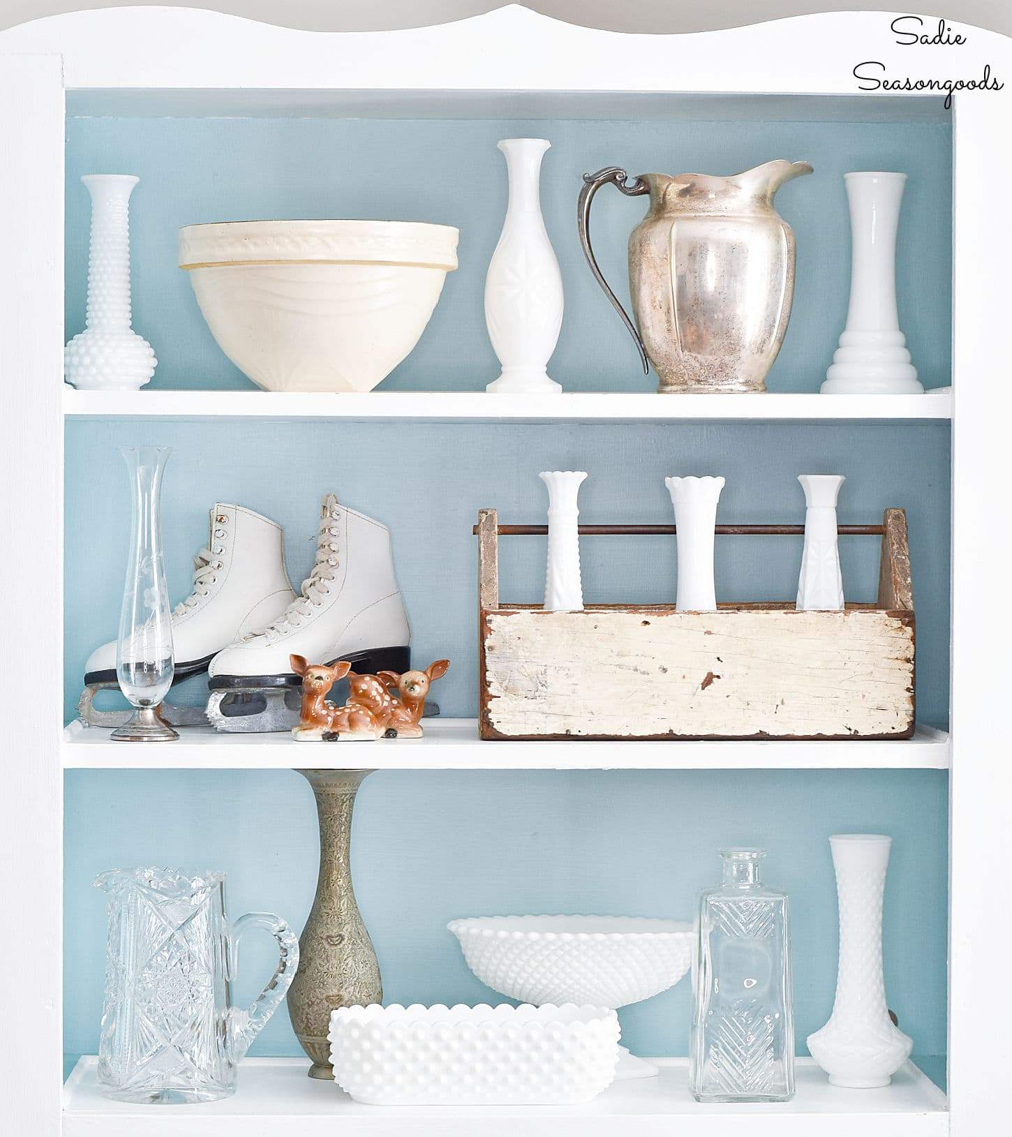 Winter Decorating Ideas from the Thrift Store