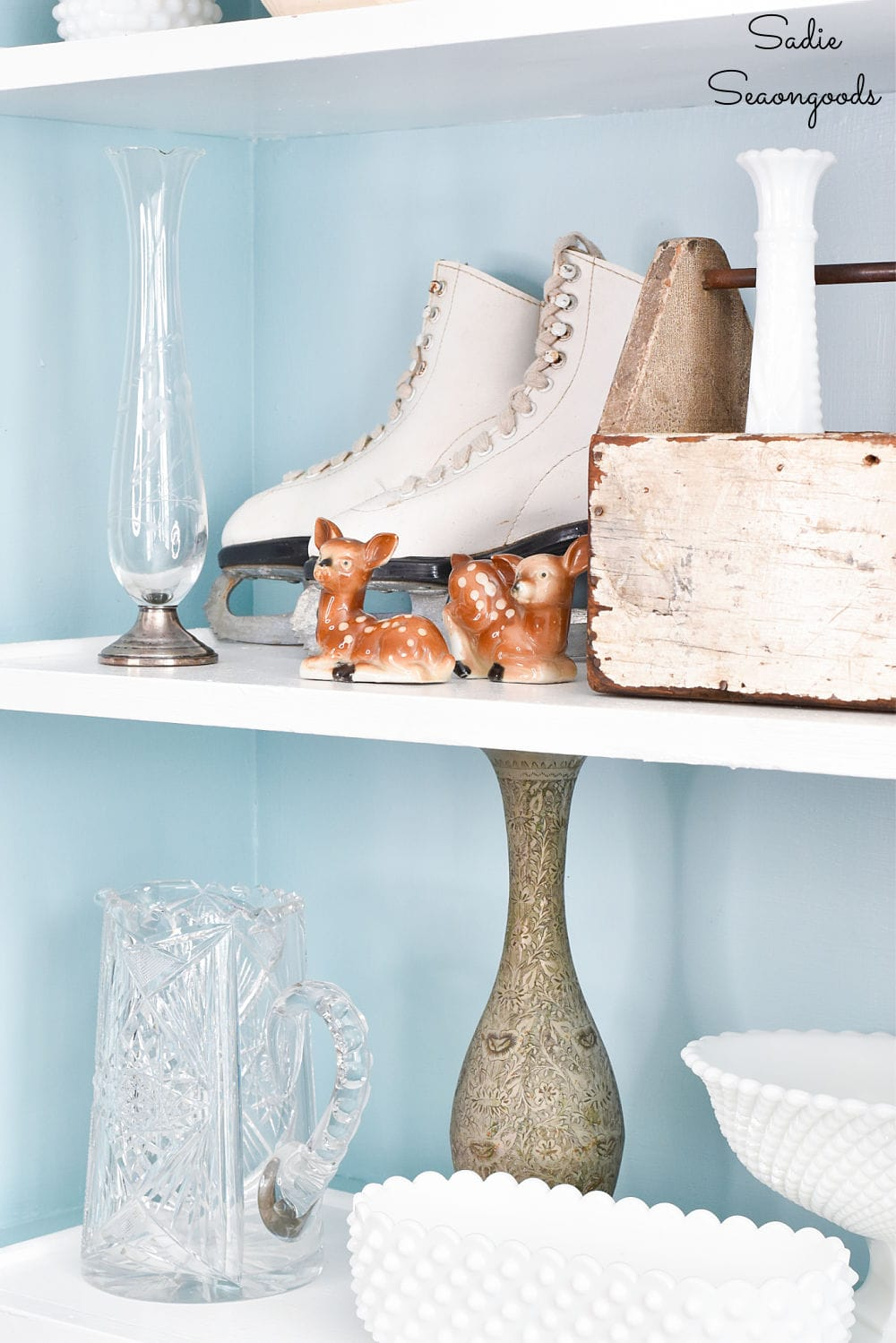 Winter decorating ideas with thrift store items