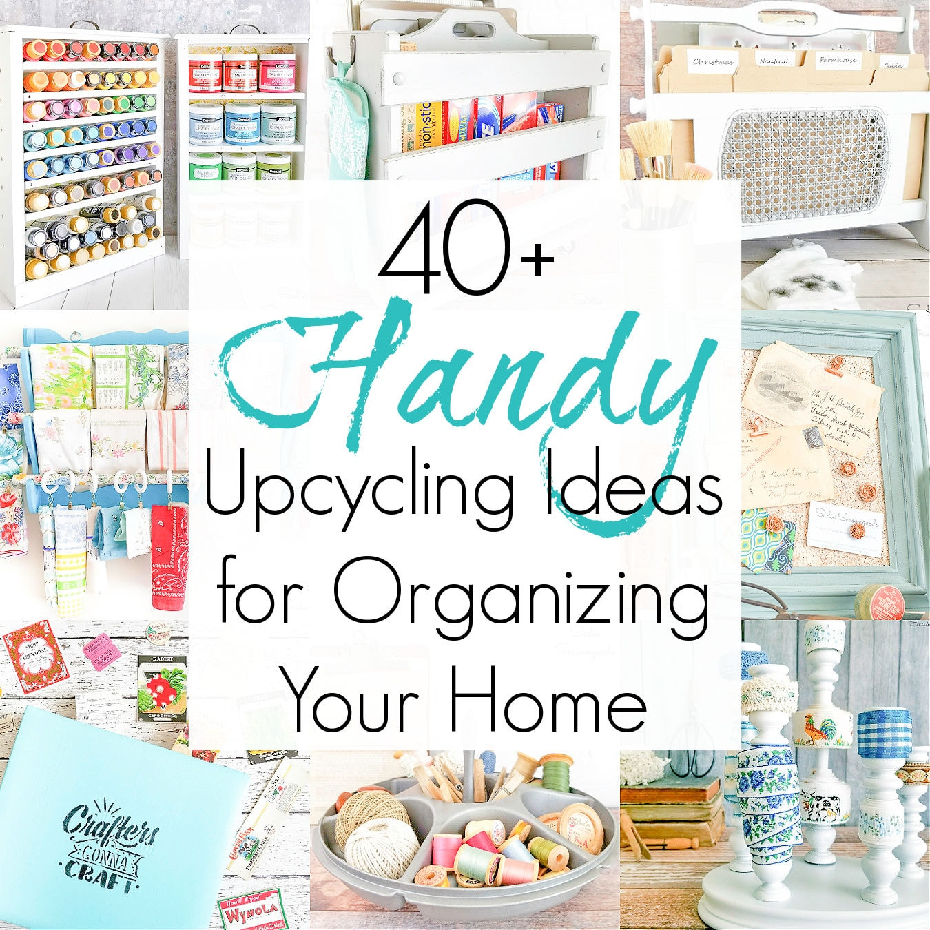 Easy Upcycling Ideas for House Storage and Organization