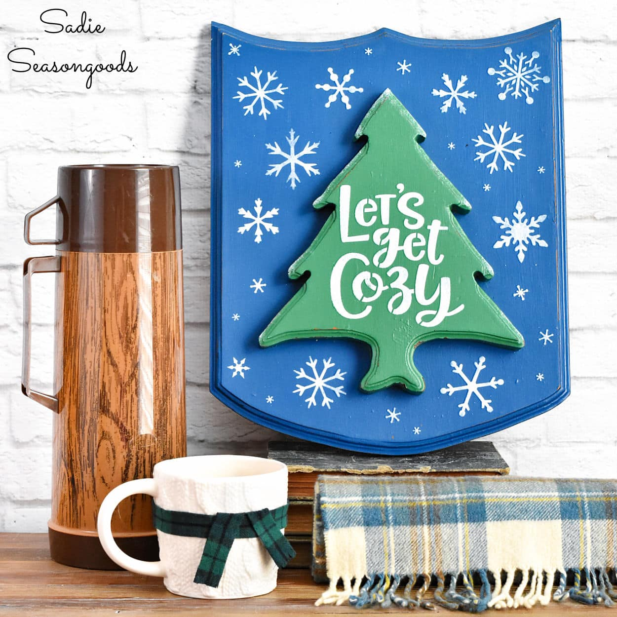 Winter Sign for Cozy Home Decor