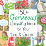 150+ Upcycling Ideas for Garden Projects