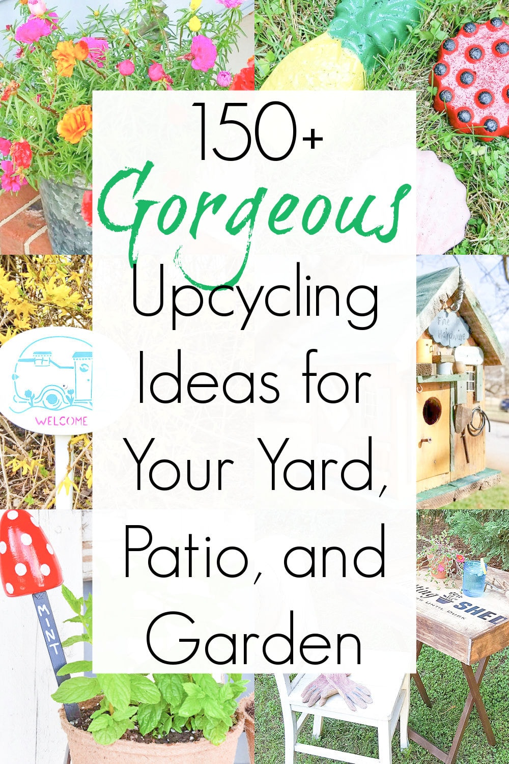repurpose ideas and garden projects
