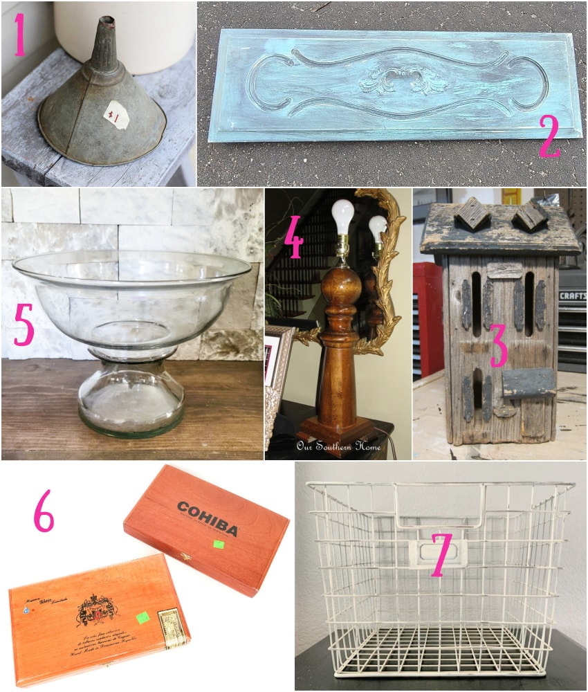 repurposed projects by upcycling bloggers