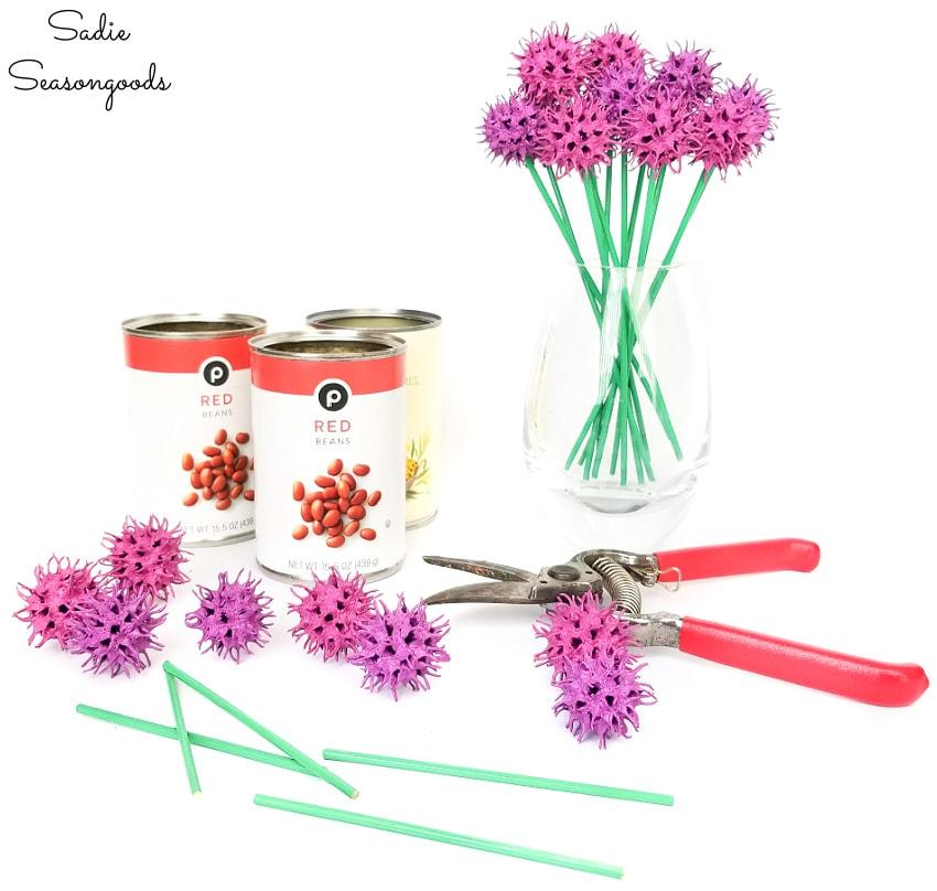 sweet gum tree ball crafts