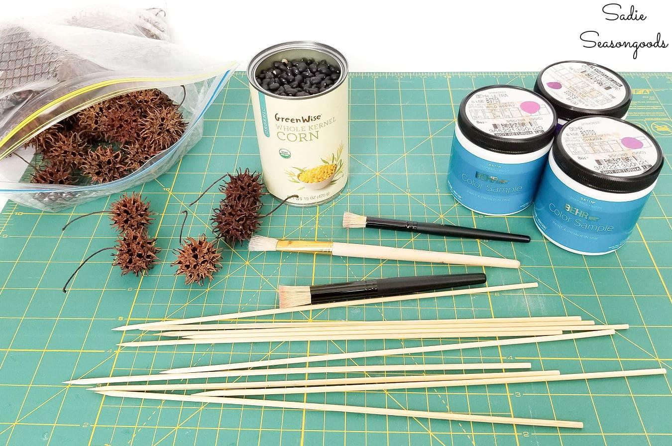 sweet gum tree crafts