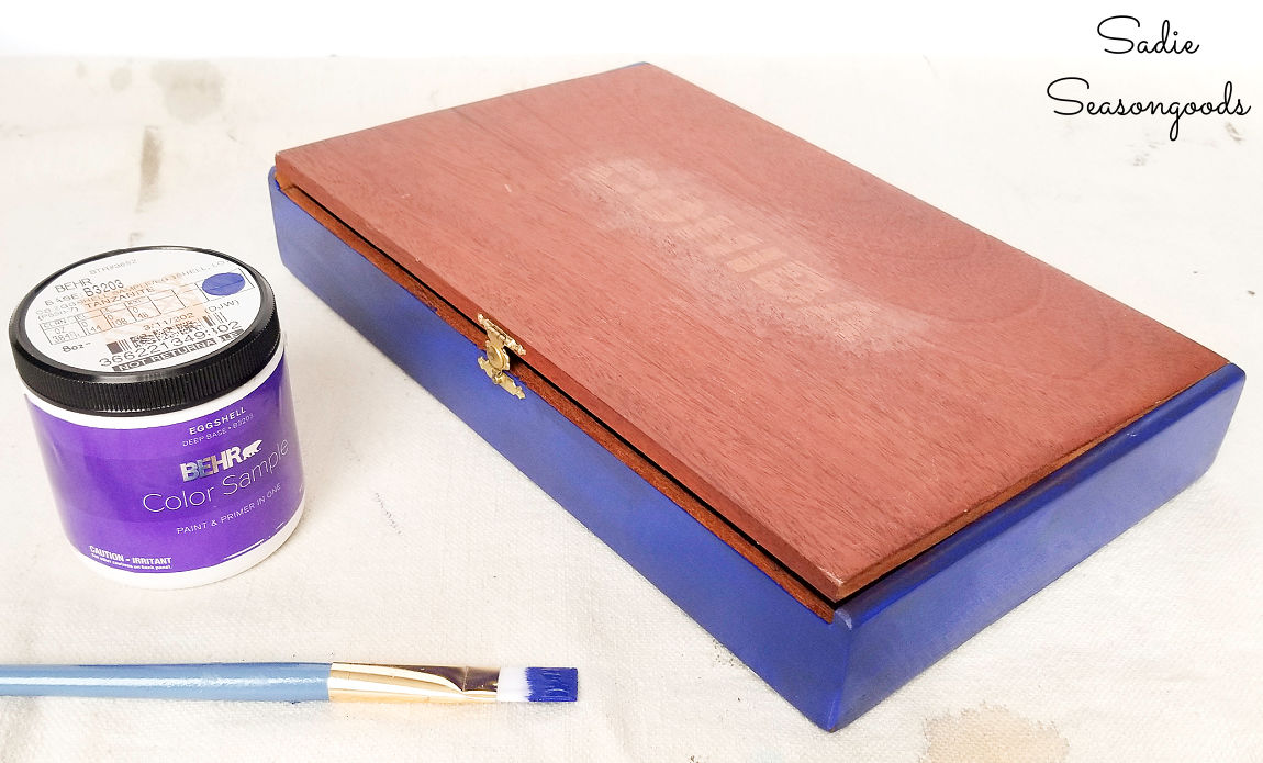 upcycling the wooden cigar boxes