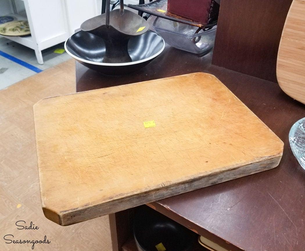 old cutting board