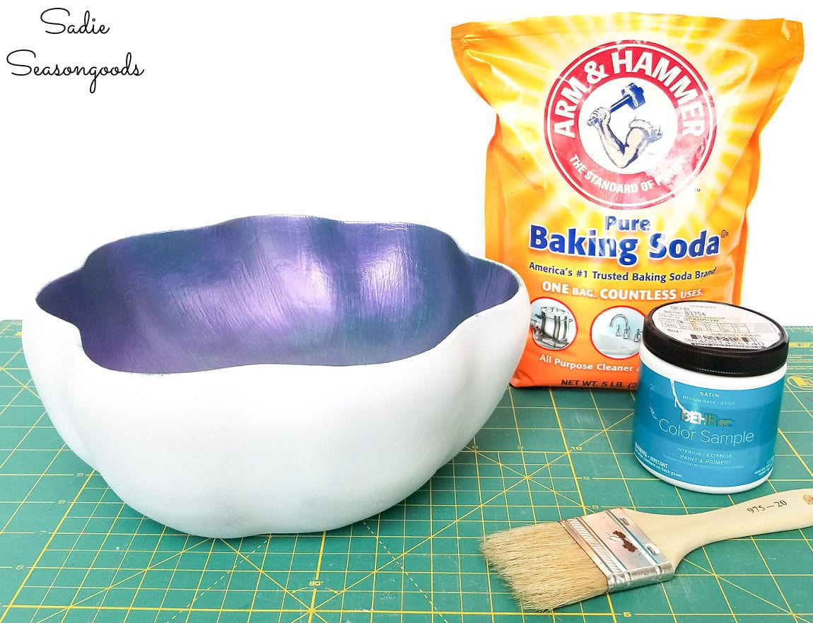 what is baking soda paint