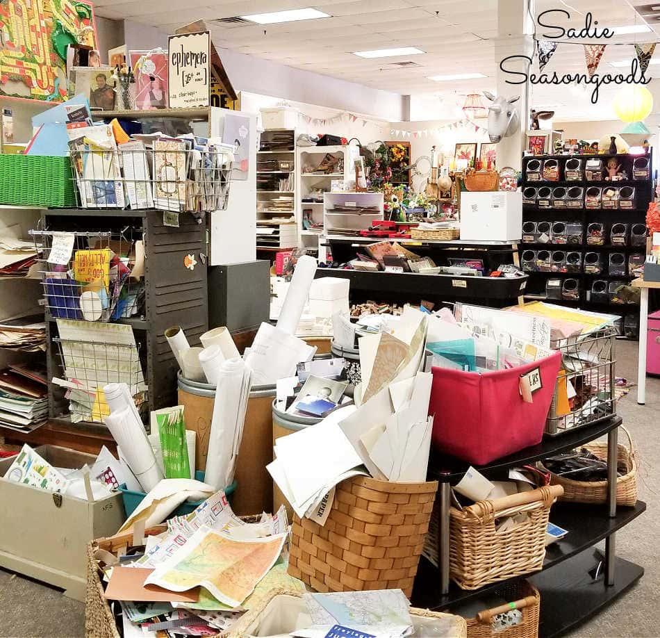 craft thrift store