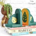 Boho Bookends as Botanical Home Decor