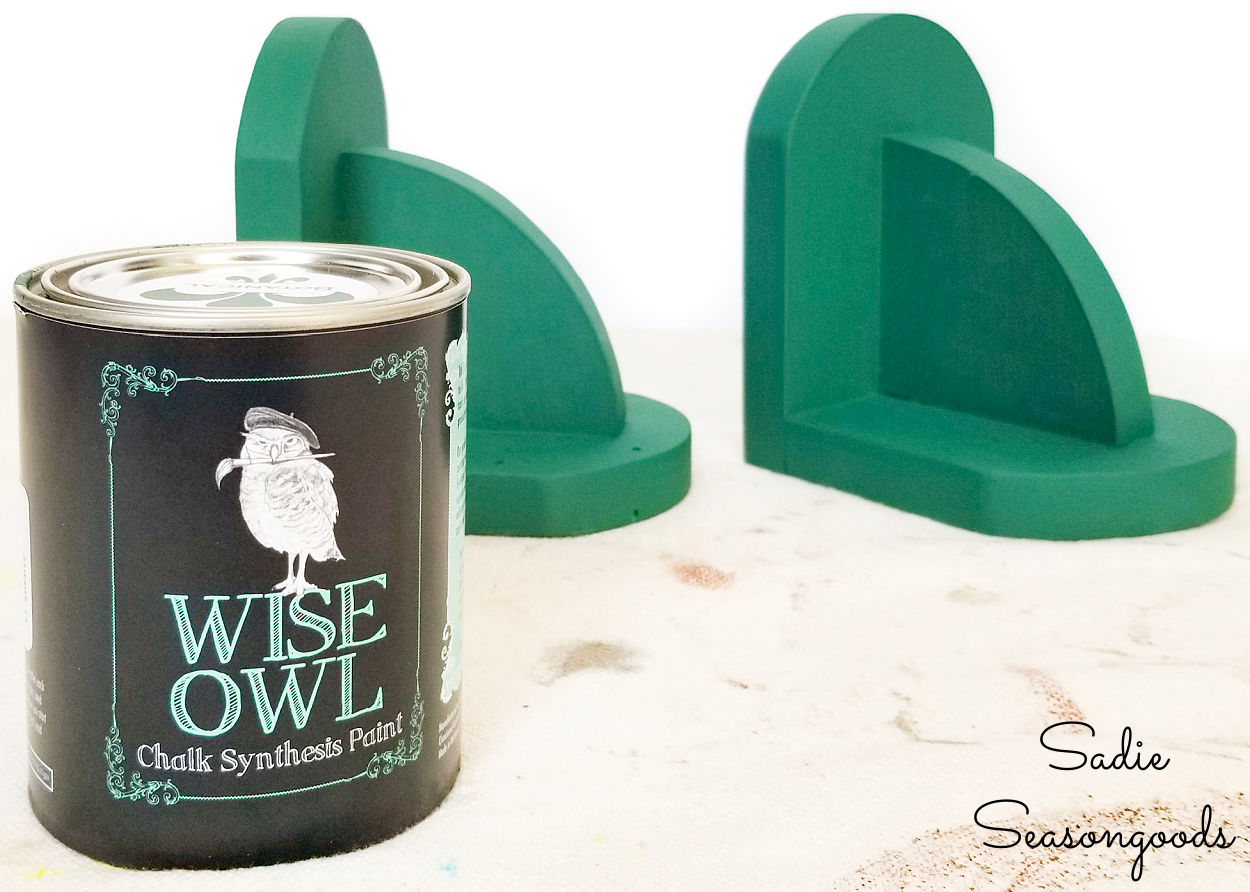 wise owl chalk paint in botanical