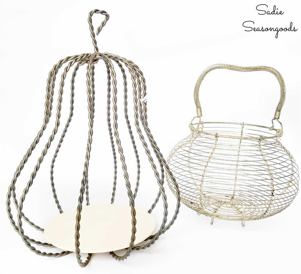 base for a pumpkin lantern
