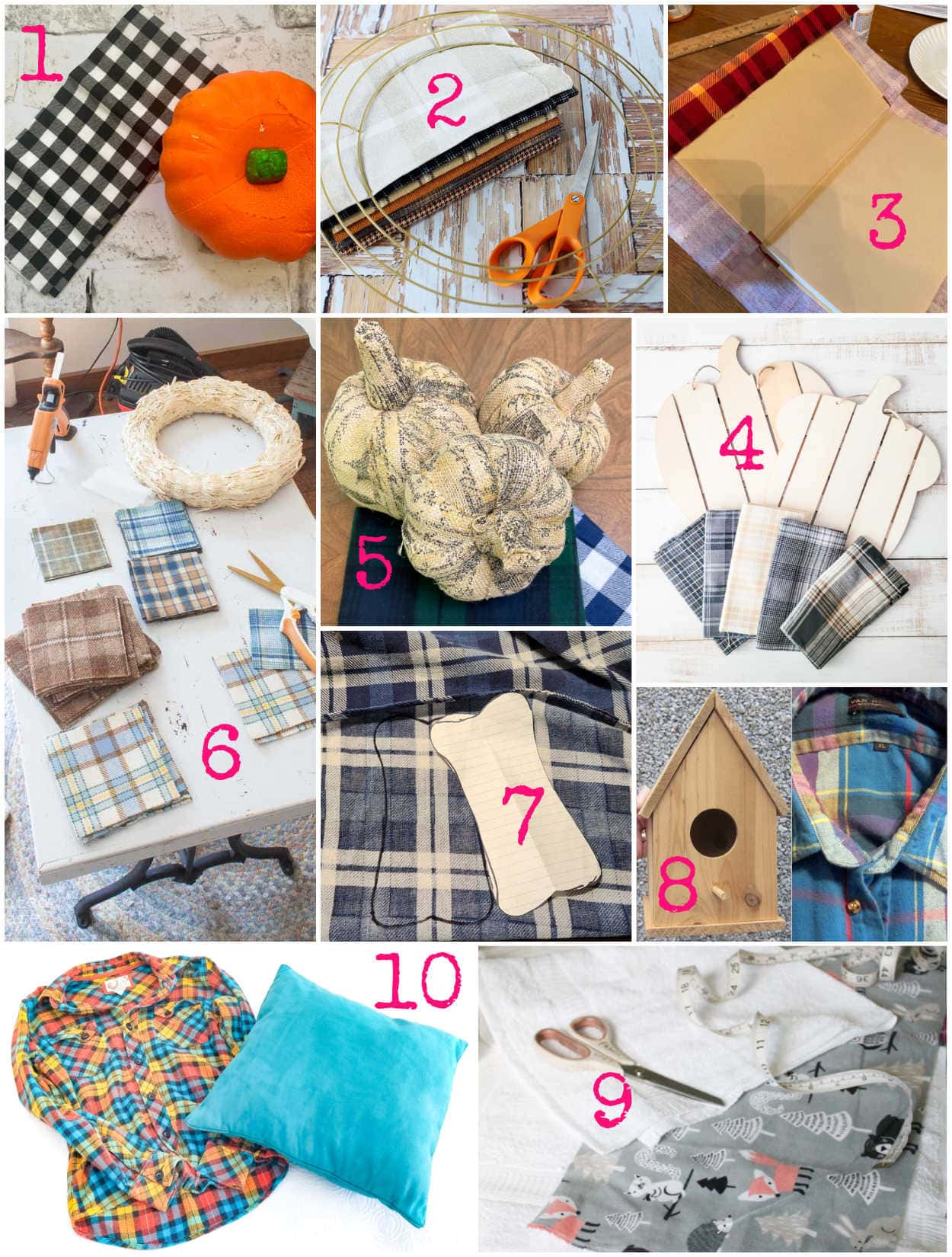 craft projects inspired by crafting with flannel by sarah ramberg