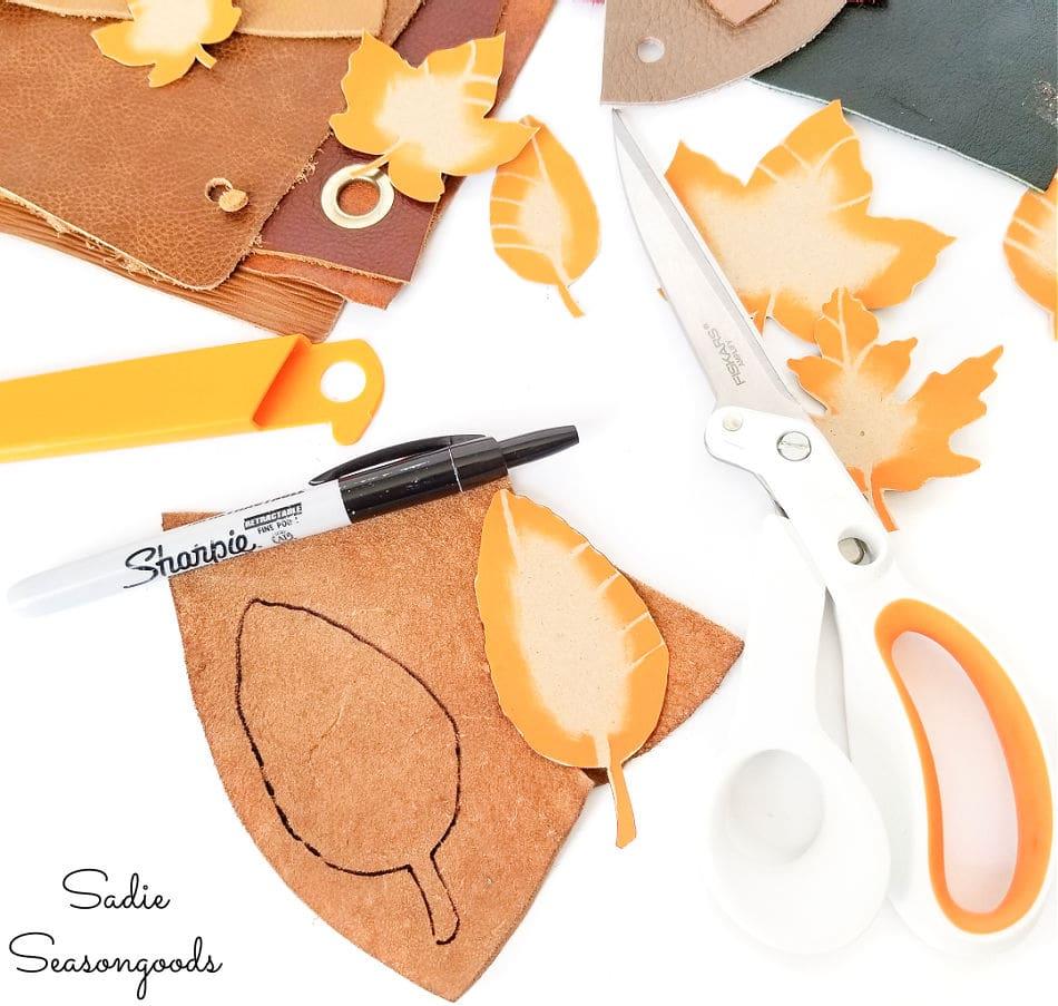 leather scraps crafts